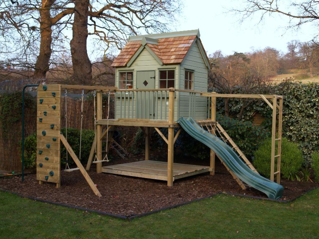 casa de árbol para niños
