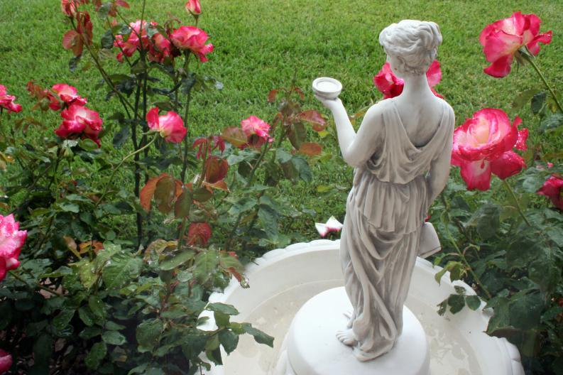 jardín estatua
