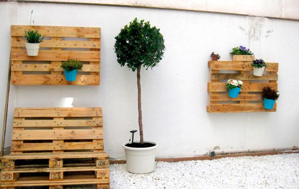 palets de madera de decoracion