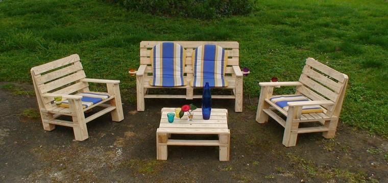 palets de madera muebles